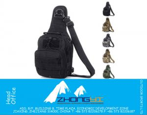 Molle Tactical Outdoor Camouflage Chest Pack Sport Single Shoulder Man Crossbody Army Surplus Gear Equipment Hot Bag